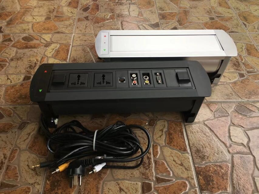 conference table with data ports uk plug socket conference table power outlets